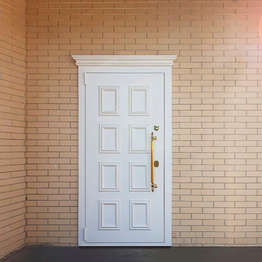дверь входная металлическая утепленная в квартиру